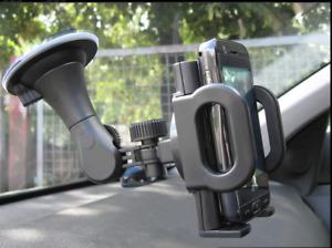 Car Mobile Holder Sat Nav MP's Smartphone GPS Universal