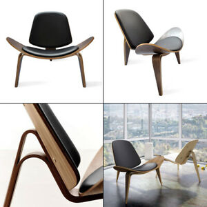 Hans Wegner Shell Chair CH70 Famous Contemporary Chic Design Living Room Chair
