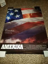 Amerika Kris Kristofferson Rare Original ABC Promo Poster!
