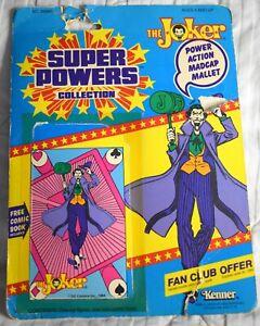 Kenner Super Powers The Joker CARDBACK filecard original action figure card
