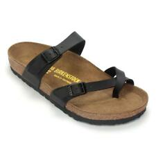 Birkenstock Womens Leather Sandal - Black