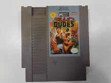 Bad Dudes - (Nintendo NES) Cleaned, Tested, Authentic! Game Only