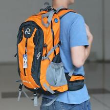40L Outdoor Sport Travel Backpack Climbing Knapsack Camping Hiking Orange