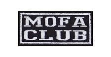 Mofa Club Patch Aufnäher Badge Biker Heavy Rocker Bügelbild Kutte 2 Takt Stick
