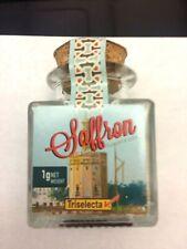 TRISELECTA - SPANISH SAFFRON, Souvenir glass jar - 1g net weight, Brand new!
