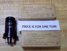 JAN KEN-RAD 12SH7 Sharp Cut-off RF Pentode Tube NOS 10/44  Quantity  TESTED