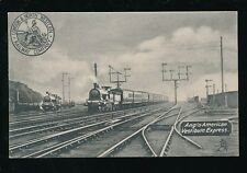 Railway L&NWR Anglo-American Vestibule Express Official PPC c1900s