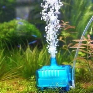 Ultra Silent Aquarium Fish Tank Oxygen Air Pump Filter High Energy C