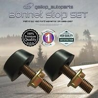 Bonnet Stop Adjuster for Nissan Patrol GQ Y60 Ford Maverick Bumper Stopper 88-97