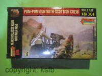 1:72 Strelets #189 Kolonialkrieg Highlander Schotten Artillerie Pom Pom Kanone