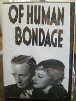 Human Bondage DVD New Davis Bette 1934 Sealed Brand Leslie Howard Classic Drama