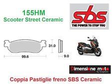 155HM - CP Pastiglie Freno Anteriori SBS Ceramic per YAMAHA XT 250 X dal 2005 >