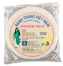 500g Reispapier zum Kochen 22cm Vietnam Reis Frühlingsrollen Loempia Papier