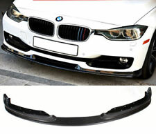 BMW 3 SERIES 12-ON F30 SE FRONT BUMPER CARBON FIBRE SPLITTER LIP HAMAN Y2192