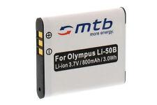 Batterie Li-50b Li50b pour Olympus SP-800UZ, SP-810UZ, SZ-10, SZ-20, SZ-30MR