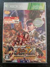 Super Street Fighter IV Arcade Edition Japanese Xbox 360 Platinum