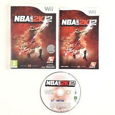 NBA 2K12 Wii / Jeu Sur Console Nintendo Wii et Wii U
