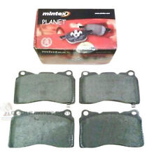 for SUBARU IMPREZA WRX STI MINTEX FRONT BRAKE DISC PADS NEW SET (BREMBO CALIPER)