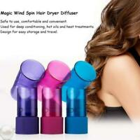 4 Colors Hair Dryer Attachment Diffuser Wind Spin Roller Fast And Easy Use