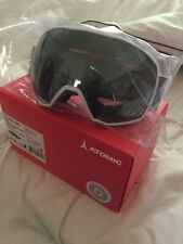ATOMIC Count 360 HD - Premium Ski Goggles Mask Spherical Lenses - White RRP £160