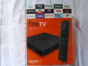 Amazon Fire TV Box 2nd Generation 4K Ultra HD