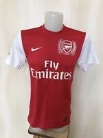 Arsenal London 2011/2012 Home Sz S Nike football shirt soccer jersey maillot