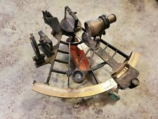 Antique Nautical Maritime Brass SEXTANT by C. Plath Hamburg Germany
