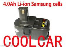 Battery For Ryobi 18V Li-ion 4.0Ah Heavy duty P104 P103 one+ plus BPL1820 ZRP104