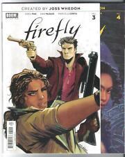 Boom! Studios Joss Whedon'S Firefly #3 4 5 6 7 Mal Zoe Jayne Serenity Greg Pak