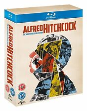 Alfred Hitchcock The Masterpiece Collection (Blu-ray, 14 Discs, Region Free) NEW