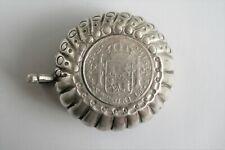 Tastevin espagnol argent massif orfèvre MANUEL GARRIDO Pièce de 8 reales 1772