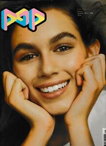 POP Magazine A/W 2016 #35 - Kaia Gerber Cover and Photo Shoot
