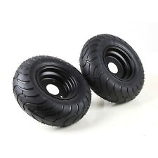"Pair of Gokart 13x5.00-6"" inch Rear Tire Wheel Rim 3 Hole Lawn Mower Scooter NEW"
