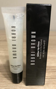 Bobbi Brown Glitter Lip Gloss In Crystal 1 .5 oz Full Size BNIB Authentic!
