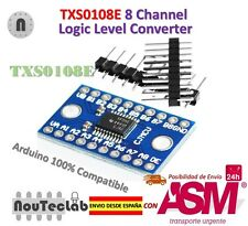 TXS0108E 8 Channel Logic Level Converter TTL 3.3V 5V Bi-directional Convert