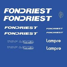 Fondriest Lampre Top Level Bicycle Decals, Transfers, Stickers n.200