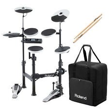 Roland V-Drums TD-4KP Portable Electronic Drum Set with CDTP Carrying Case
