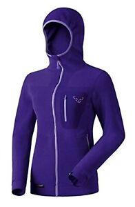 NEW Dynafit Mera Polartec Purple Womens Medium Ski Fleece Hooded Jacket Ret$190