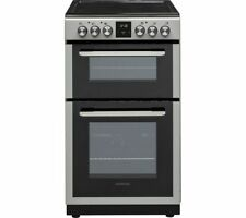KENWOOD KTC506S19 50 cm Electric Ceramic Cooker - Silver - Currys