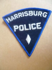 Patches: HARRISBURG PENNSYLVANIA USA POLICE DEPT PATCH (NEW, apx. 10.5x10.5 cm)