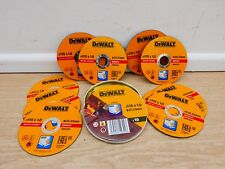 10 X DEWALT DT3506 115MM x 1MM INOX STAINLESS STEEL METAL CUTTING GRINDER DISCS