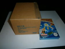 TO THE EARTH X 6 DISTRIBUTION BOX NINTENDO NES SEALED NEW RARE NUEVA PRECINTADA
