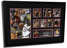 NEW LEBRON JAMES CLEVELAND CAVALIERS SIGNED LIMITED EDITION FRAMED MEMORABILIA
