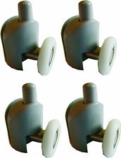 23 mm - ROULETTES inférieures POUR CABINE DE DOUCHE - 4 pcs