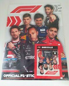 TOPPS F1 STICKER ALBUM - STARTER PACK BRAND NEW & SEALED