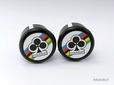 Colnago Plugs Caps guidon tapones bouchons lenker vintage style flat New