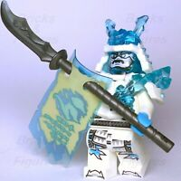 Ninjago LEGO® Blizzard Ice Emperor Zane Ninja Minifigure from set 70678 Genuine