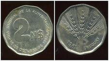 URUGUAY  2 nuevos pesos  1981  ( bis )