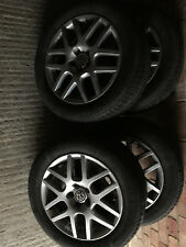 Vw Golf mk4,Bora ,Montreal alloy wheels&Michelin tyres x4 16""