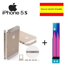 Chasis iPhone se carcasa completa marco tapa trasera Apple blanco plata